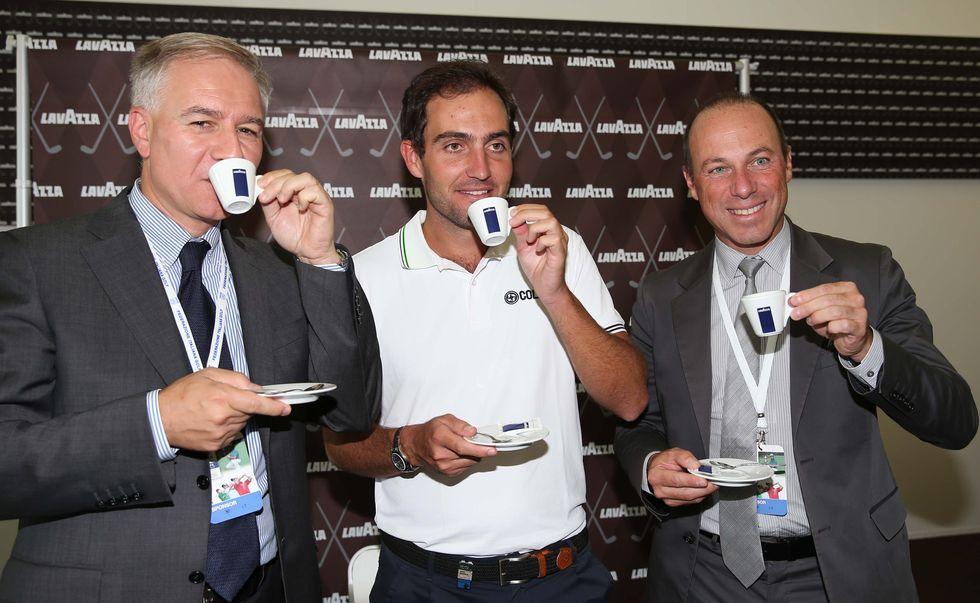 La Lavazza agli Open d'Italia di golf