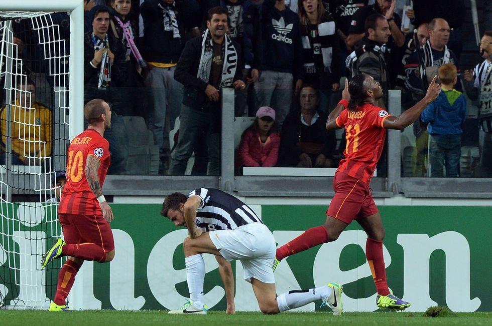 Juventus - Galatasaray 2-2, occasione sprecata