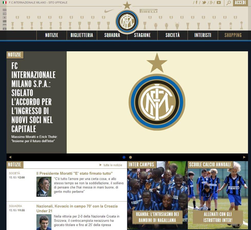 """Comunicato ufficiale: """"L'Inter è di Thohir"""""""