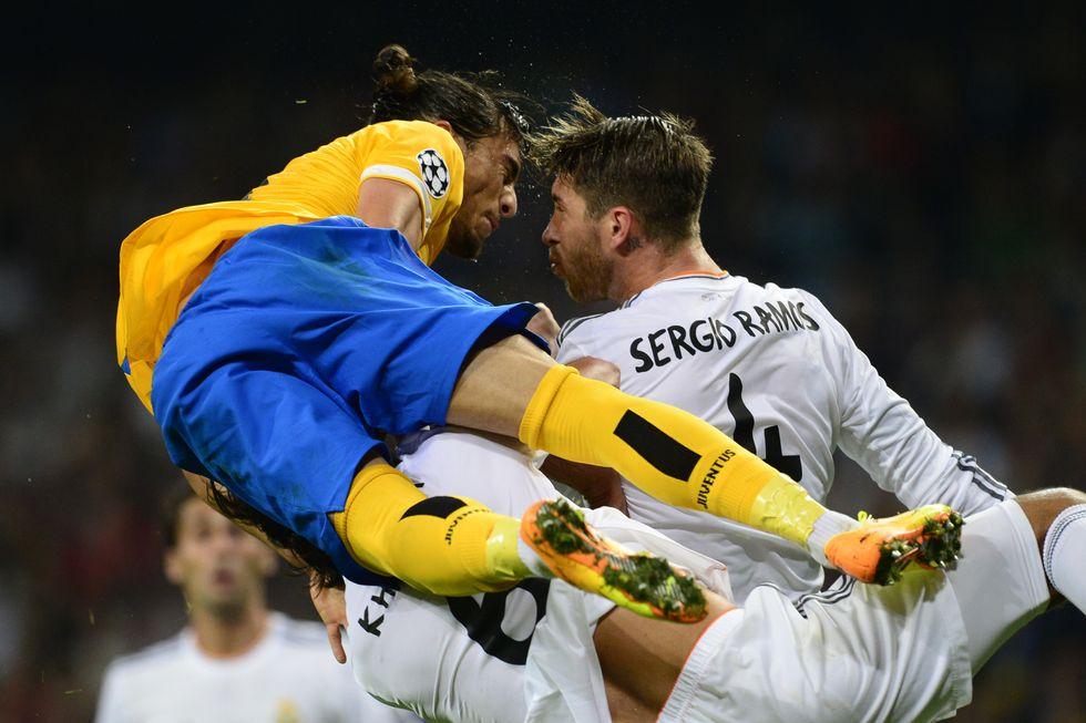 Real Madrid-Juventus, le immagini e la moviola