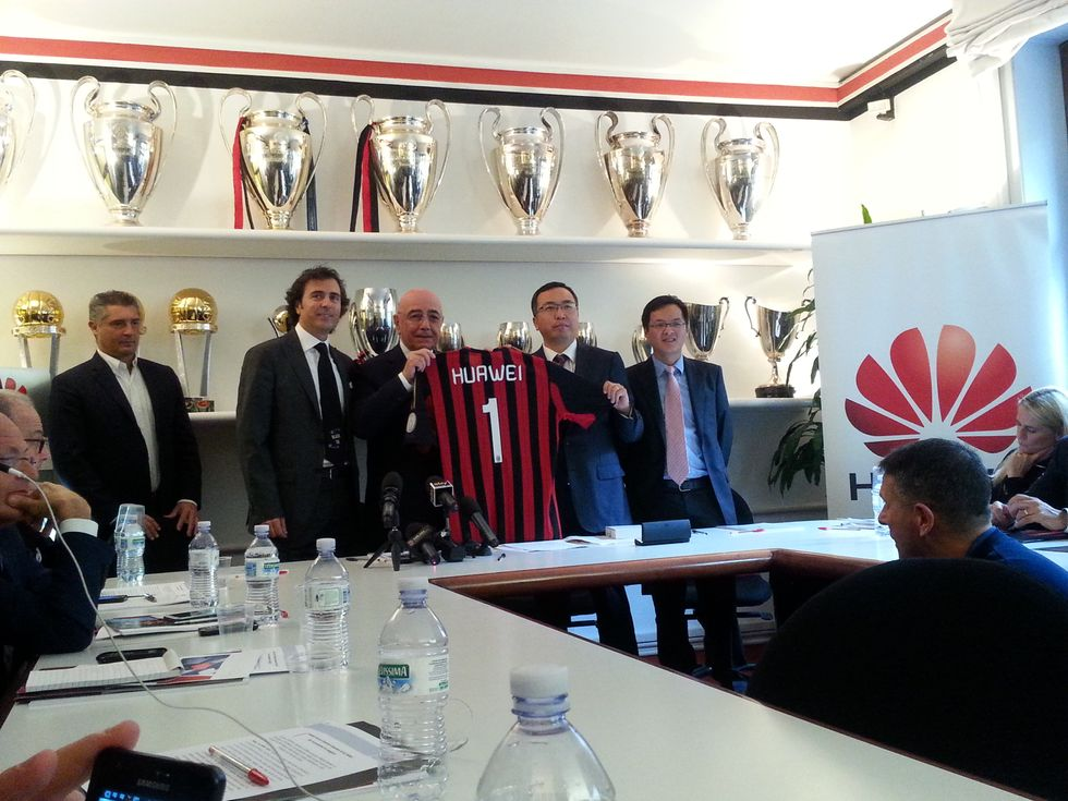 Il Milan alla conquista della Cina