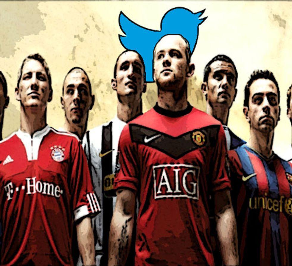 Quale calciatore è più ricco su twitter?