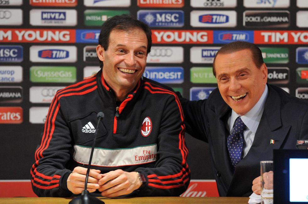 Allegri resta al Milan, niente esonero