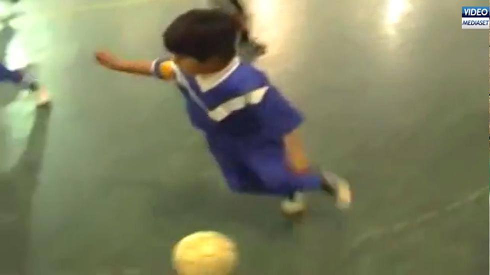 Claudio Gabriel, 8 anni, il nuovo Messi