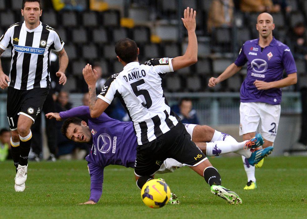 13° giornata - Fiorentina manca un rigore su Rossi, su Llorente c'era il penalty