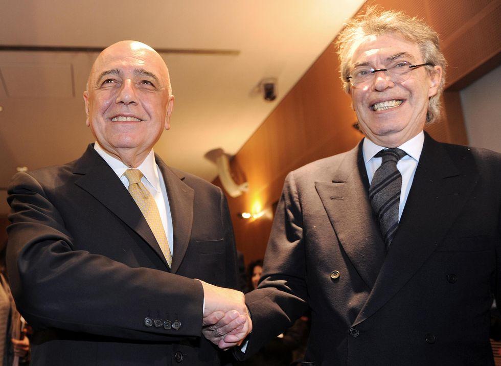 Galliani, Moratti e la Milano del calcio che non c'è più