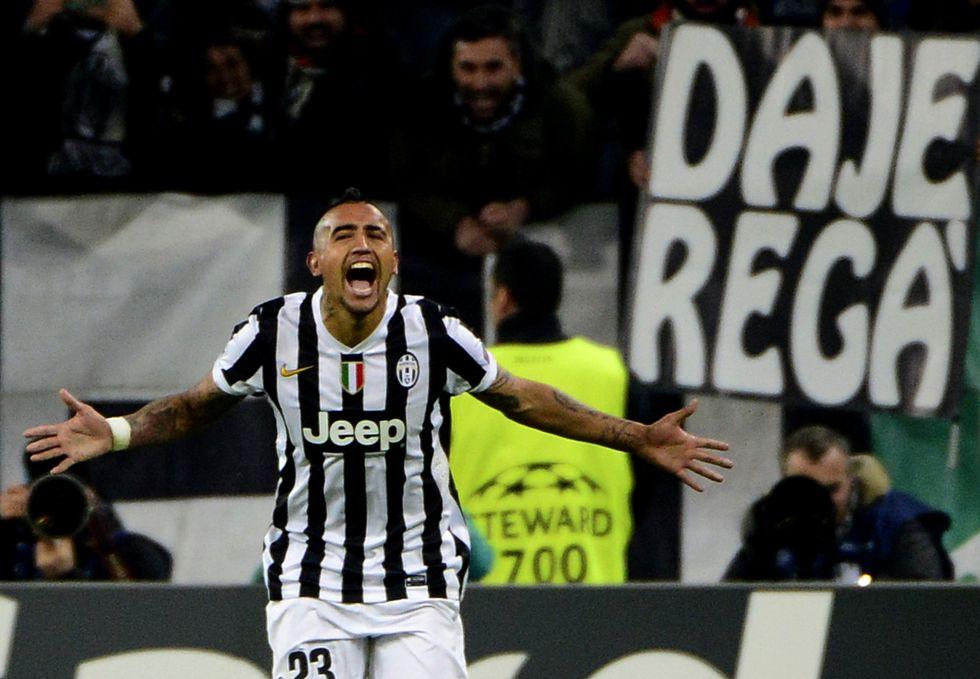Vidal, l'oro della Juve