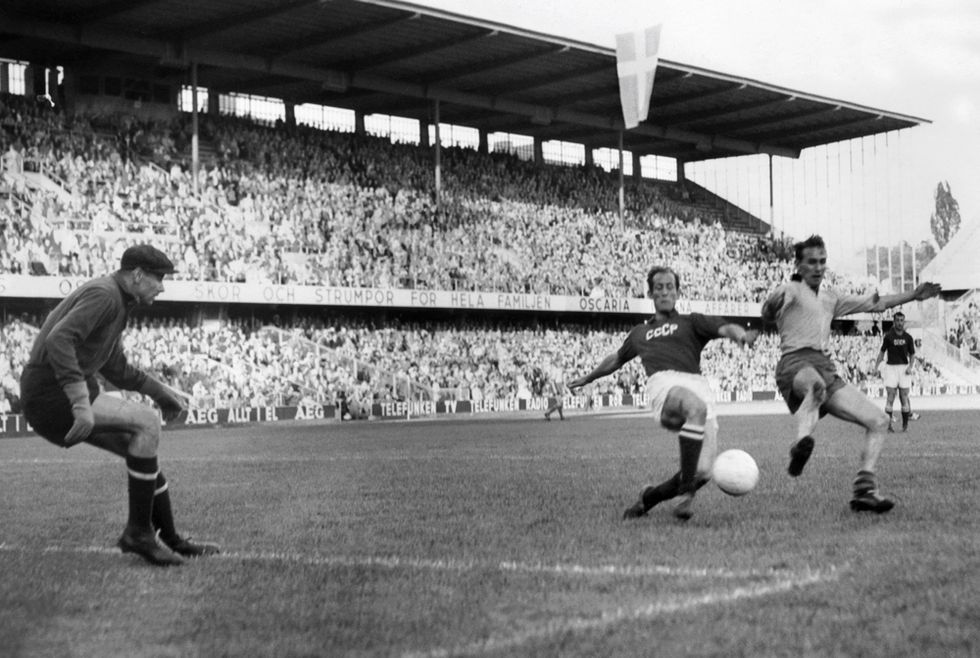 Lev Yashin, il portiere che bloccò il Pallone d'Oro