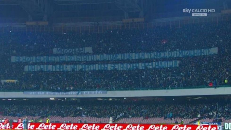 Il Napoli c'è, rabbia Inter