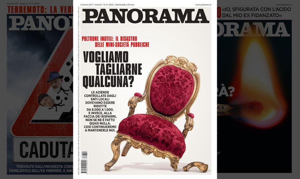 La copertina del n. 14/2017 di Panorama