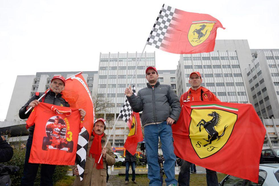 Schumacher: quando un eroe diventa uomo