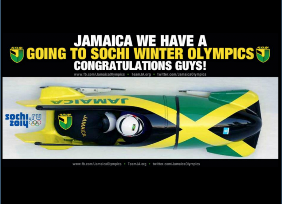 Olimpiadi Sochi, tornano i giamaicani del bob
