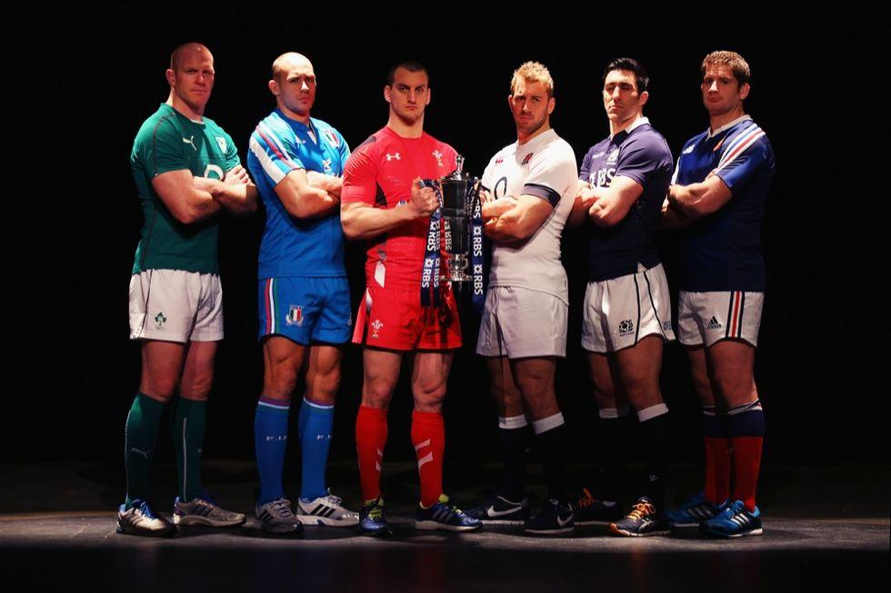Rugby 6 Nazioni: le nuove maglie