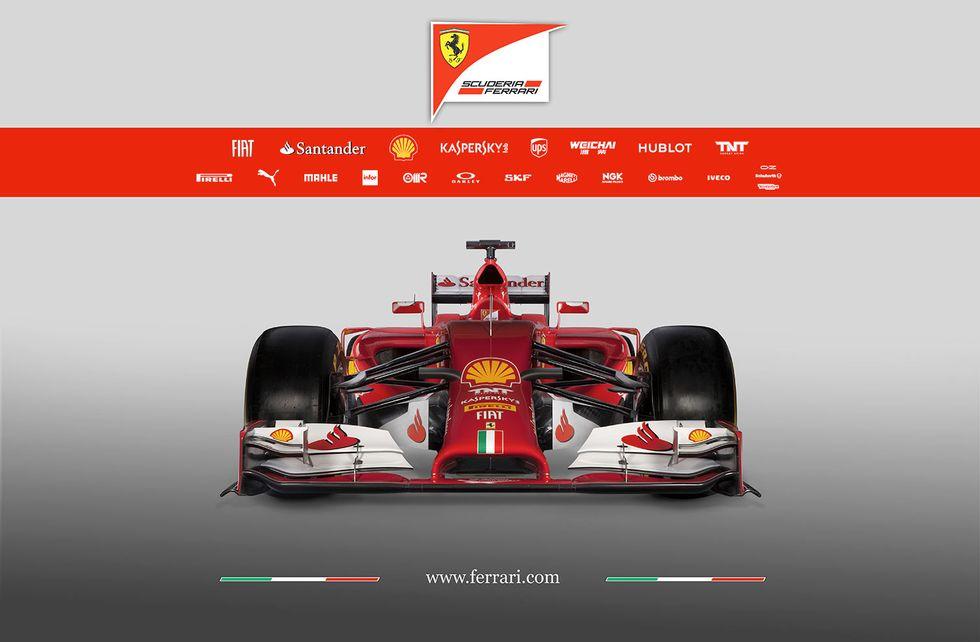 Formula 1, Ecco la nuova Ferrari