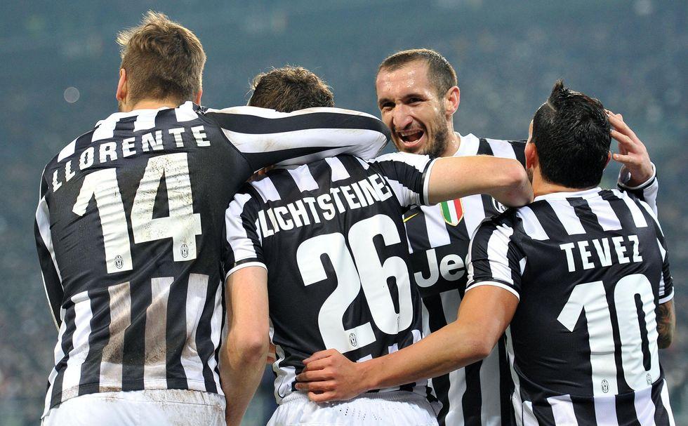 Juve, lezione di calcio all'Inter