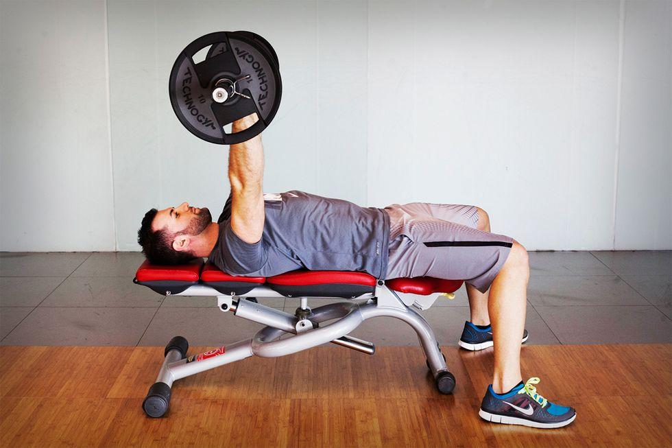 Il workout per i pettorali