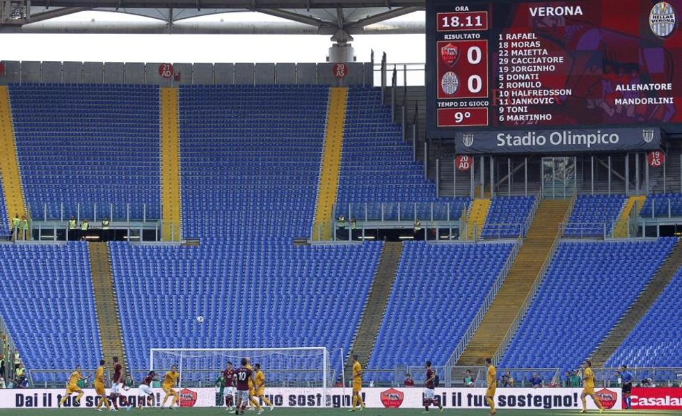 Niente sconto: Roma senza curve contro Samp e Inter