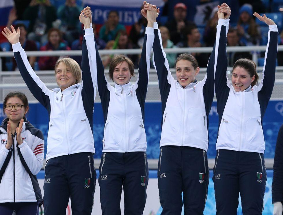 Sochi 2014, l'Italia di bronzo nello short track e le gare del 18 febbraio