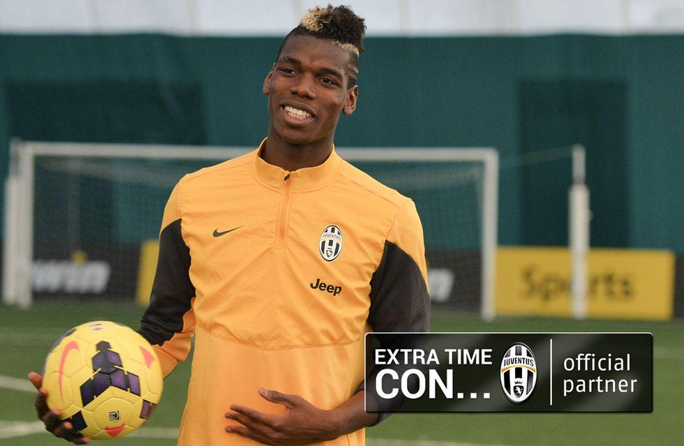 Juventus: Paul Pogba a tutto campo