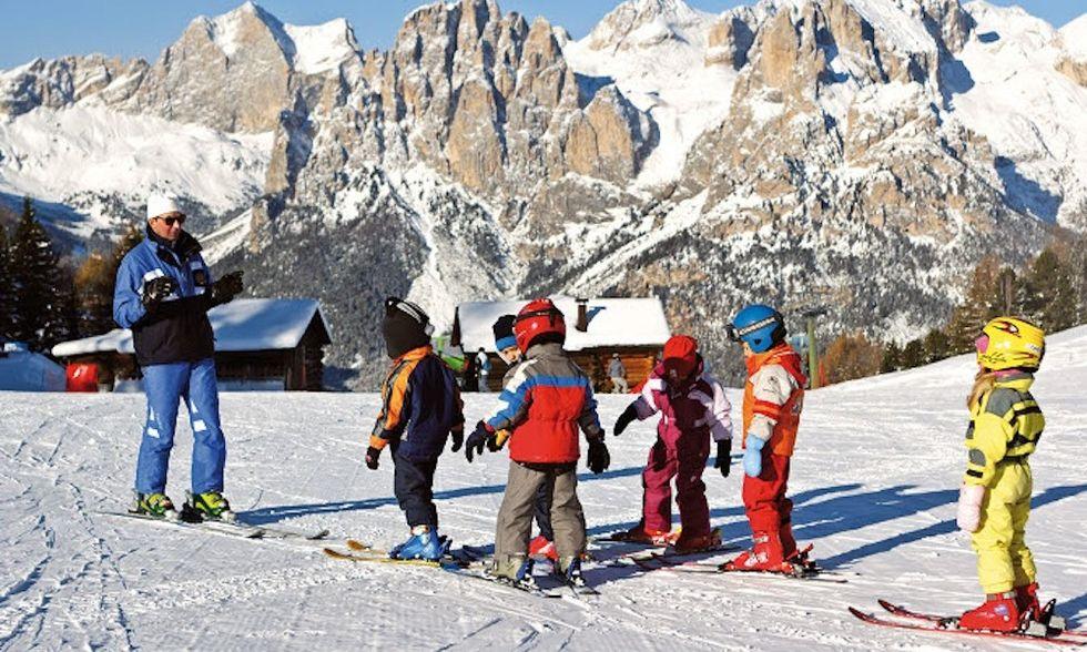 5 consigli per insegnare a sciare ai bambini