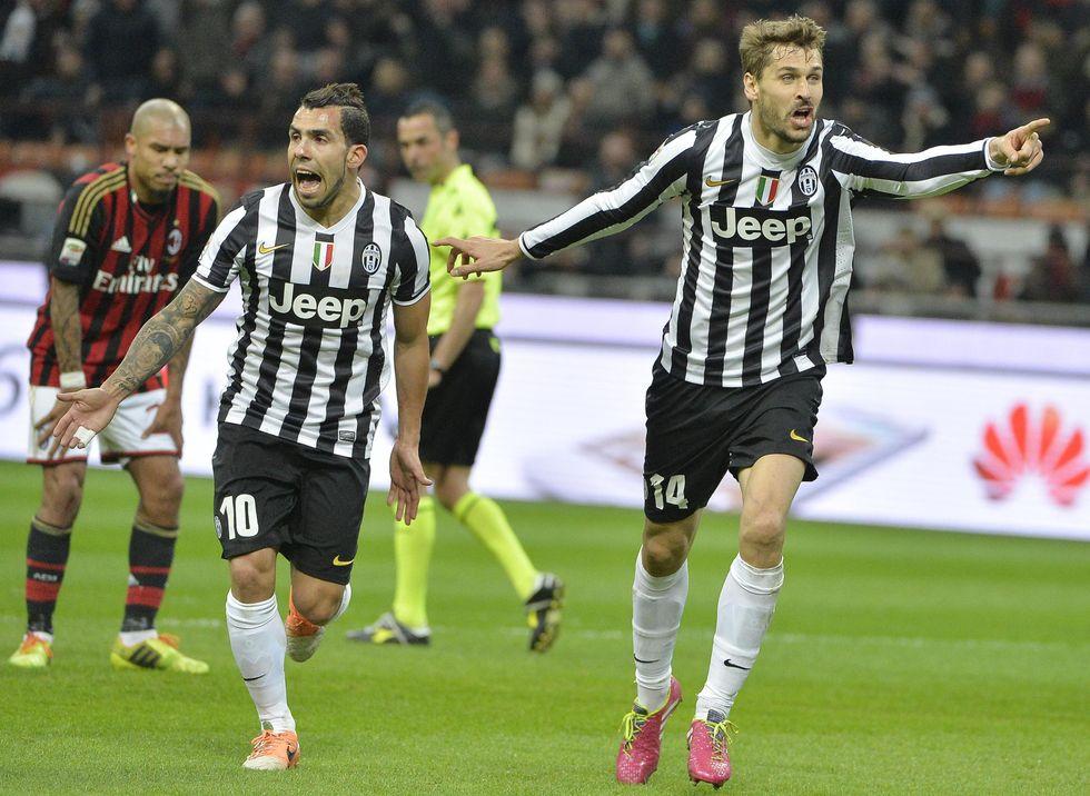 Il Milan lotta ma vince la Juventus