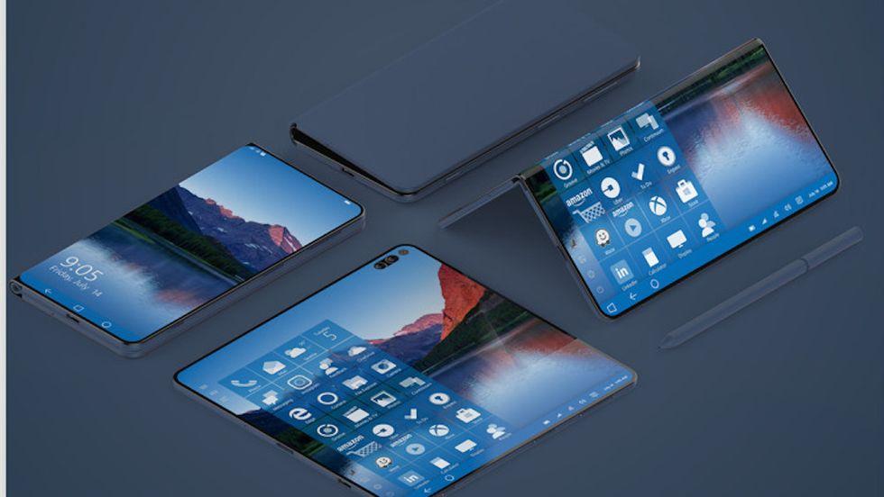 Axon M: ecco il primo smartphone pieghevole