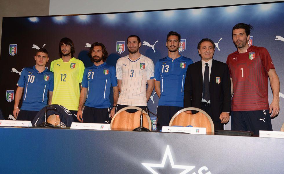 Mondiali 2014, presentata la maglia dell'Italia