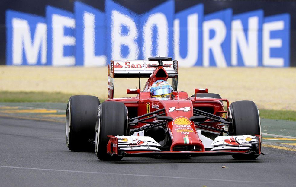 Formula 1: Gp Australia - vince Rosberg