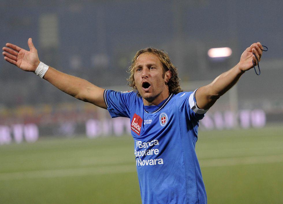Novara, il record di Rubino: più goal di Piola