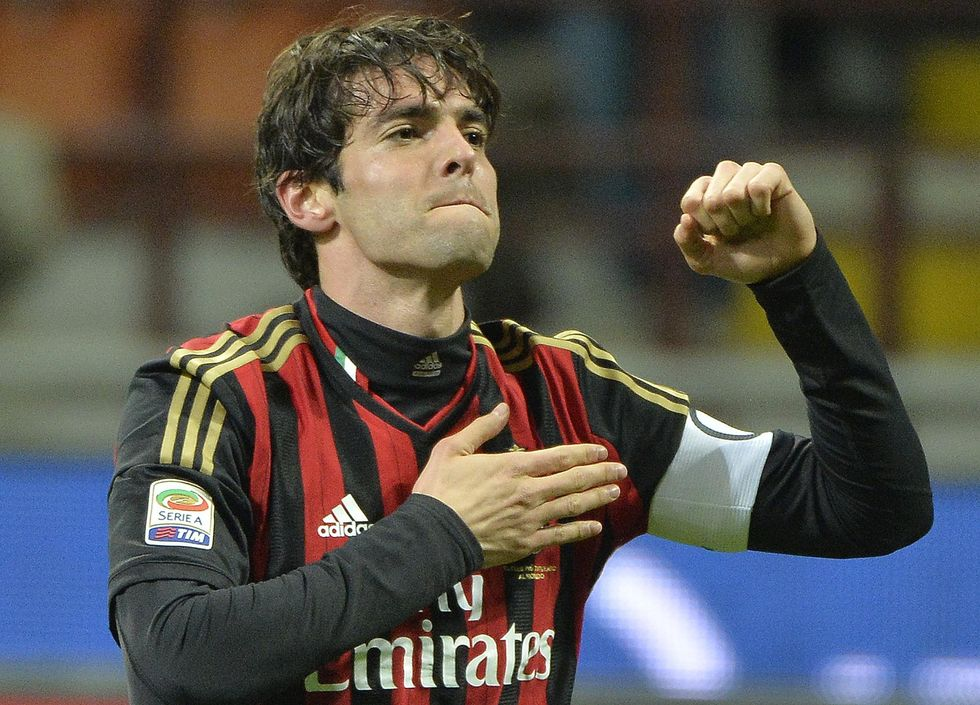 Kakà-Milan, addio nel gennaio 2015