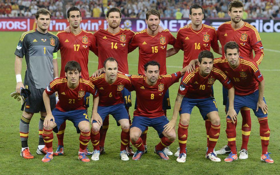 Gruppo B: la Spagna