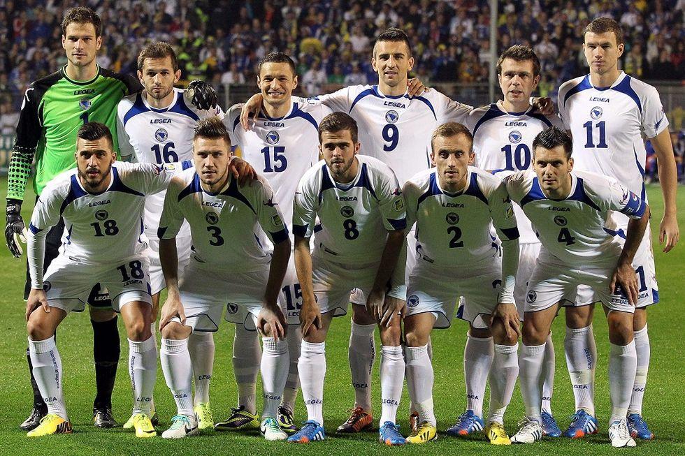 Gruppo F: la Bosnia Erzegovina
