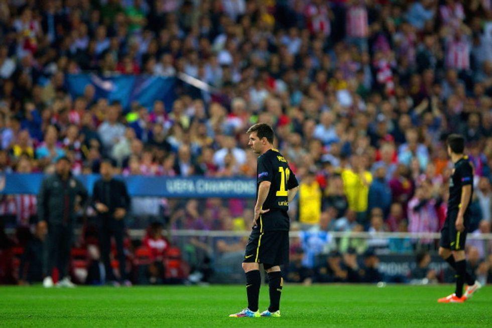 Lo strano sciopero di Messi contro l'Atletico...