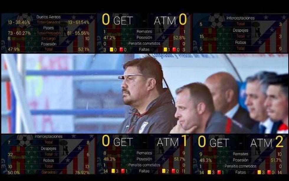 Burgos e il calcio del futuro: i Google Glass per i dati in diretta