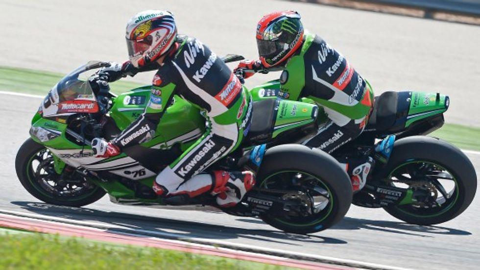 Superbike ad Assen: testa a testa Kawasaki-Aprilia