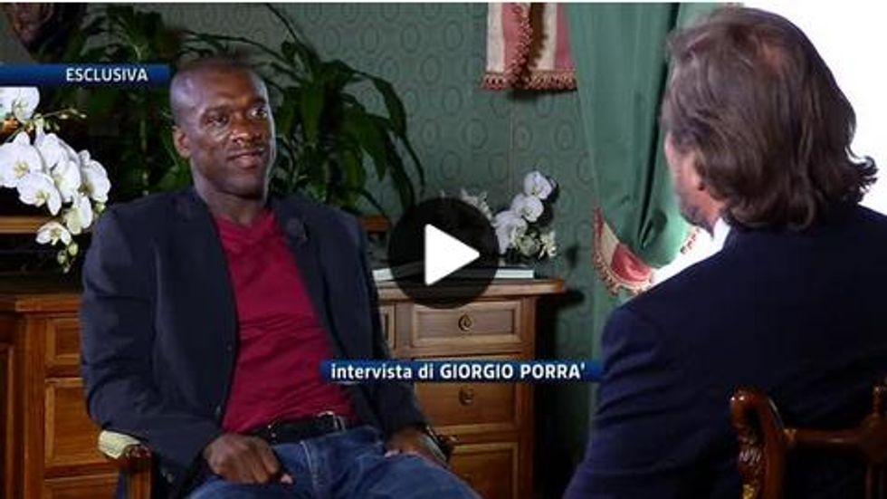 """Lo strappo di Seedorf: """"Milan, resto qui"""" - VIDEO"""