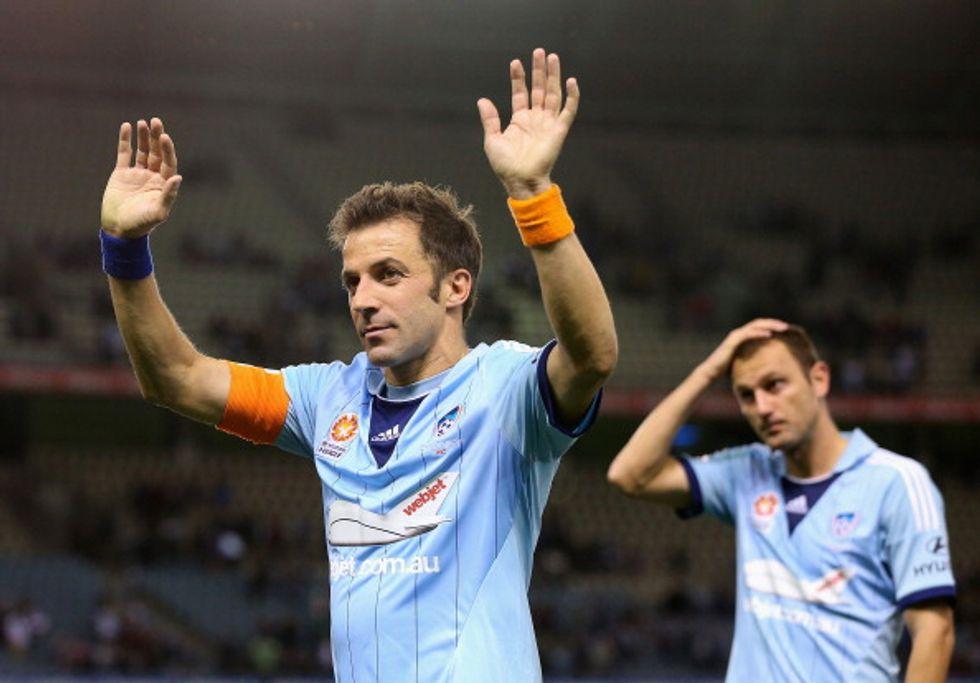 Del Piero lascia Sydney. Prossima meta: gli Usa