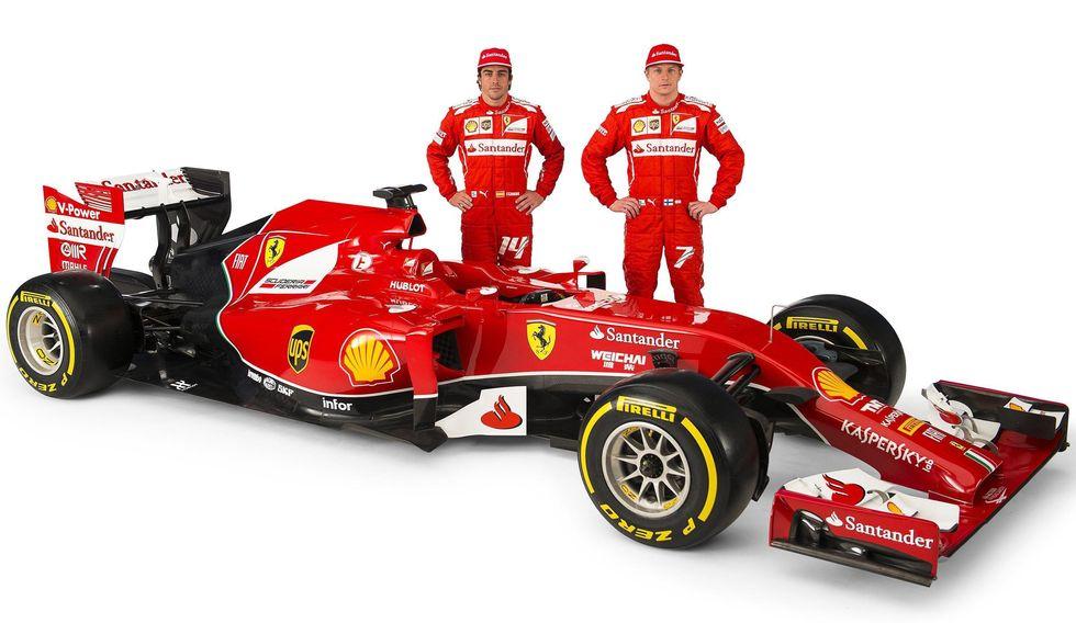 Ferrari: Alonso-Raikkonen 7-1