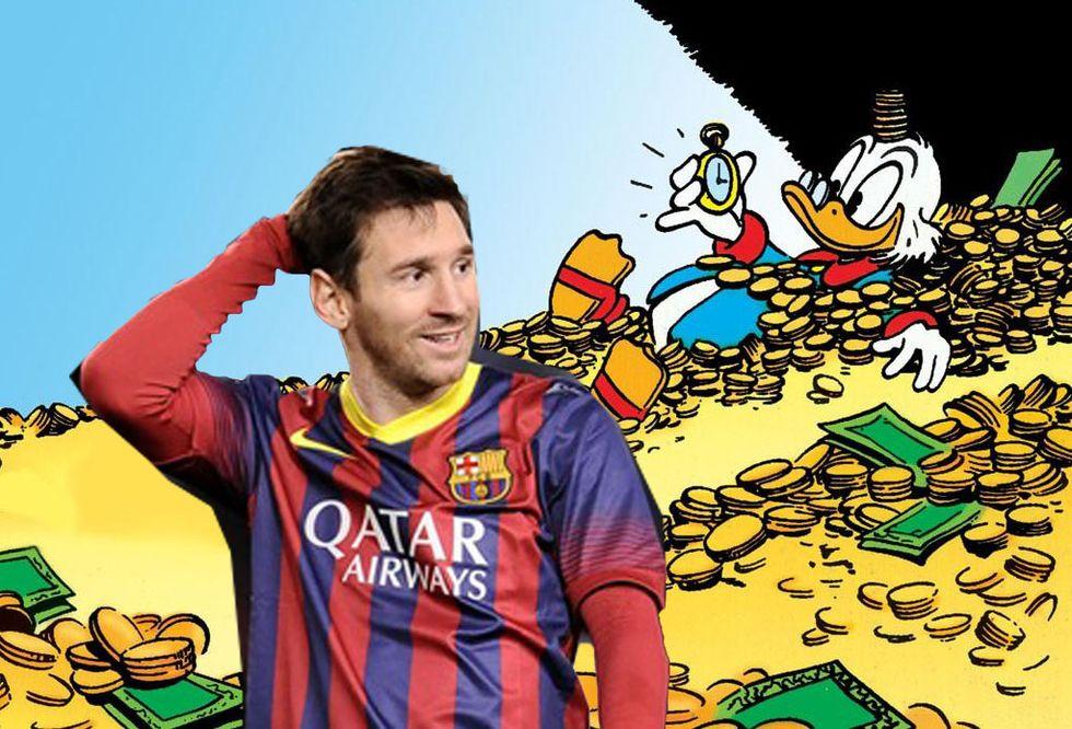 Messi rinnova e diventa il giocatore più pagato del mondo