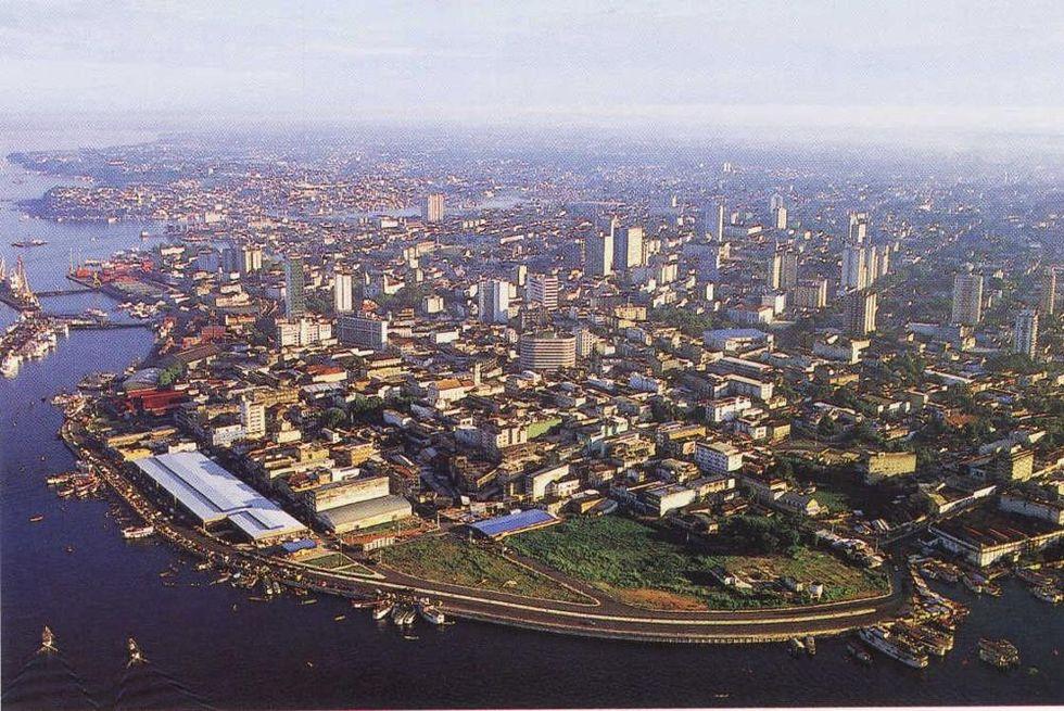 Le città del Mondiale: Manaus