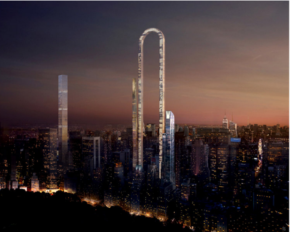 """Il grattacielo più originale al mondo sarà a forma di """"U"""""""