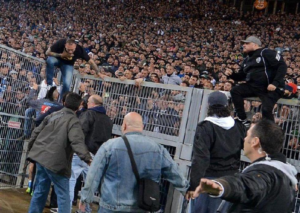 Stangata Napoli: stadio chiuso per 2 turni