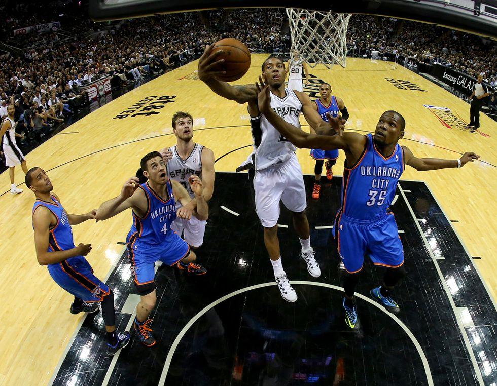 Nba, gli Spurs travolgono OKC: le 5 migliori giocate
