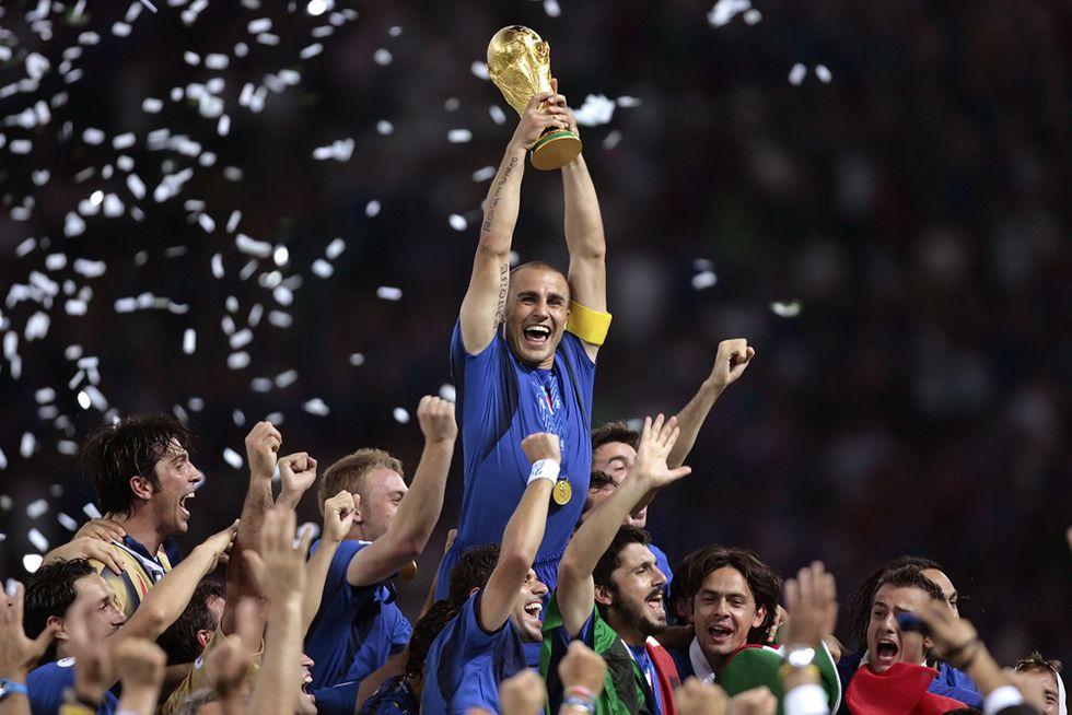 """Fabio Cannavaro: """"Così si vincono i Mondiali"""""""