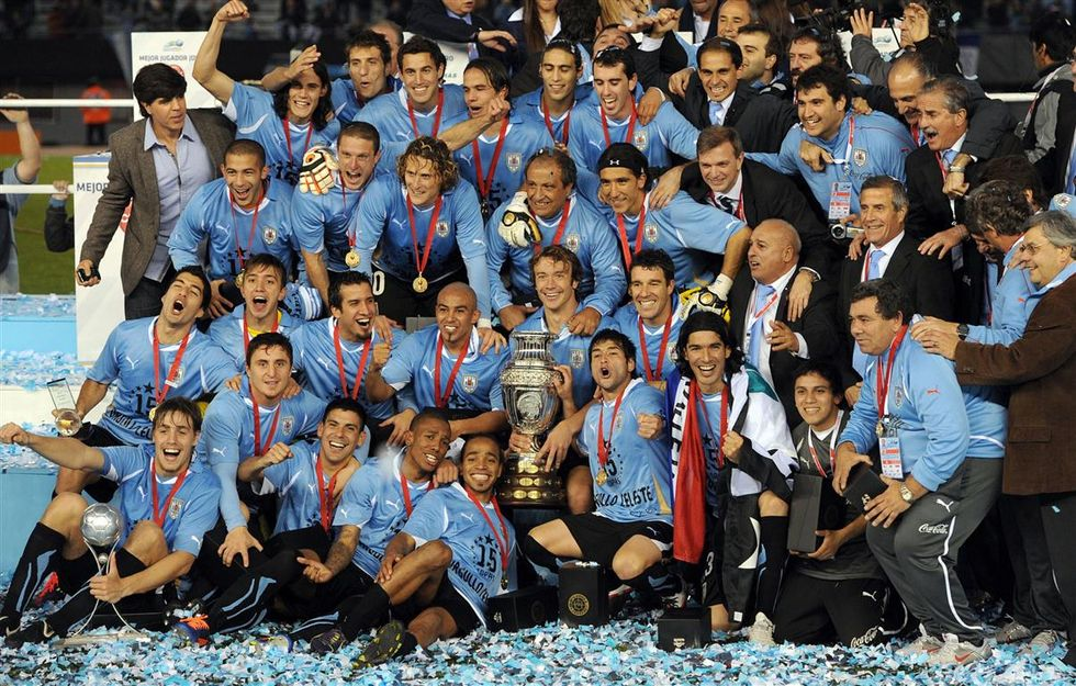 Gruppo D: l'Uruguay