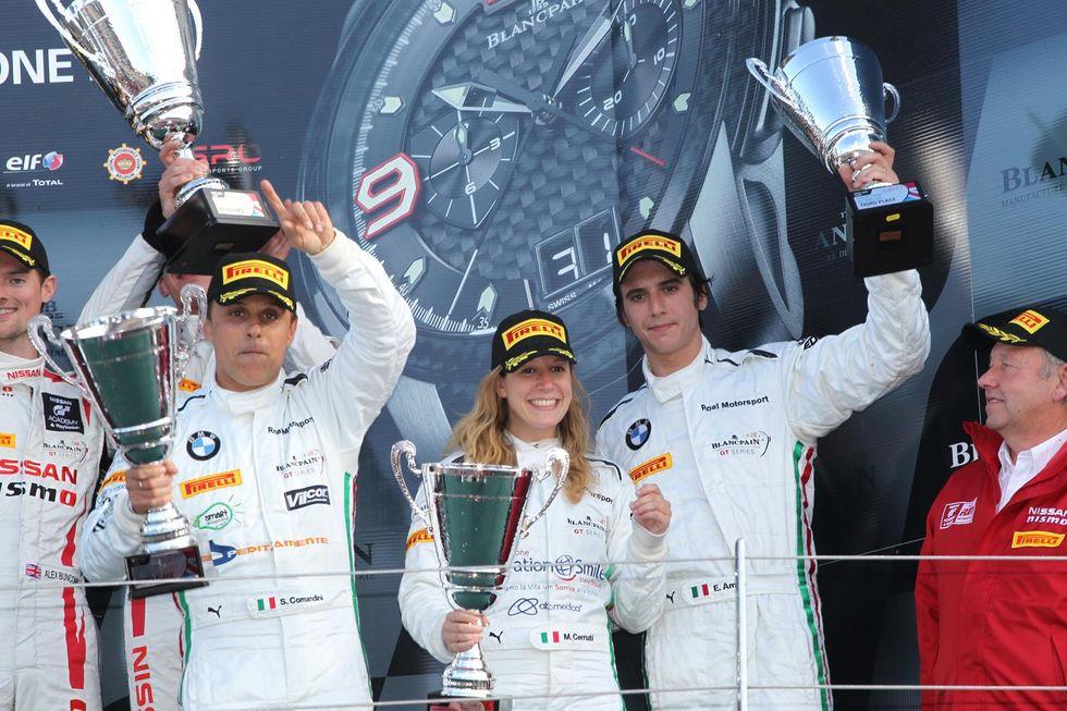 BlancpainEndurance Series: primo podio a Silverstone