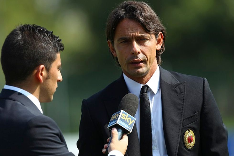 Milan, addio Seedorf arriva Inzaghi