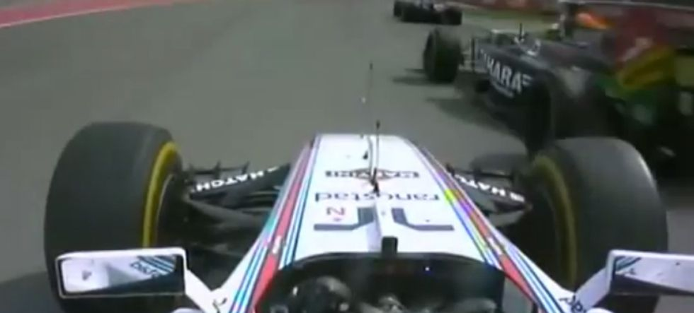 Gp Canada: l'incidente tra Perez e Massa