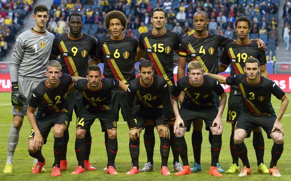 Gruppo H: il Belgio
