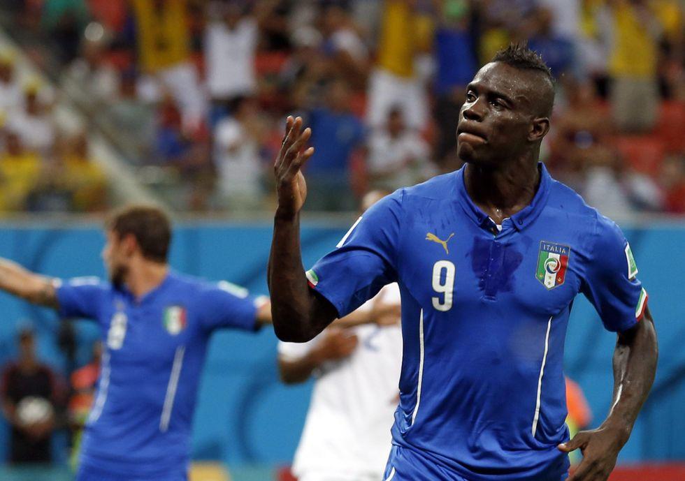 Balotelli! E l'Italia batte l'Inghilterra...